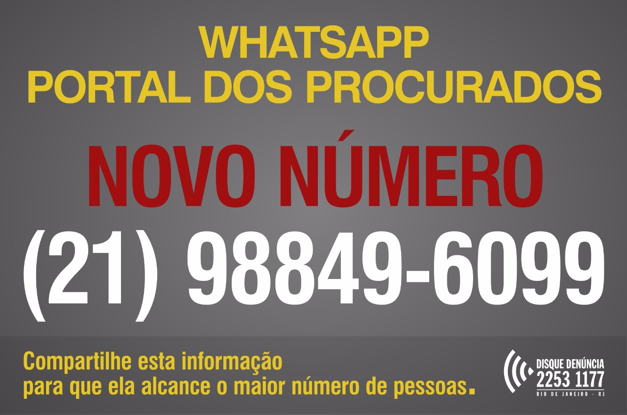 uploaded/imgs/noticias/25_5_2017__0_d332d4ef-70e6-47c2-9349-5250c5c7eaac.jpg = Disque-Denúncia informa que o número do WhatsApp do Portal dos Procurados mudou